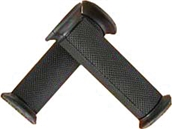 NCY Grip Set (Rubber, Black, Closed Ends); UniversalS