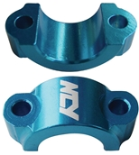 NCY Lever Brackets (Alloy, Blue); UniversalS