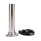 NCY Throttle Tube (Alloy, Orange, Cam Type, 7/8