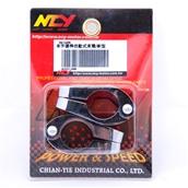 NCY Adjustable Cross Bar Clamps (Chrome, 7/8