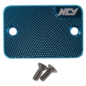 NCY Master Cylinder Cover (Blue); Genuine, YamahaS