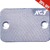 NCY Master Cylinder Cover (Silver); Genuine, YamahaS