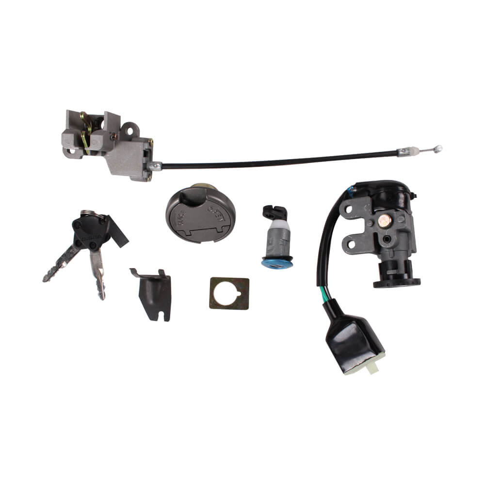 Lock and Ignition Set with Keys; CSC go., QMB139 Scooters