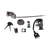 Lock and Ignition Set with Keys; CSC go., QMB139 ScootersS
