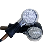 LED Turn Signals (Chrome); Universal FitS
