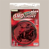SMD Bright LED Strip (Red, 60 CM); Universal FitS
