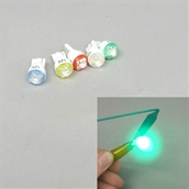 LED Bulb (T10, 1W, Blue, Green, Red, White, Yellow)S
