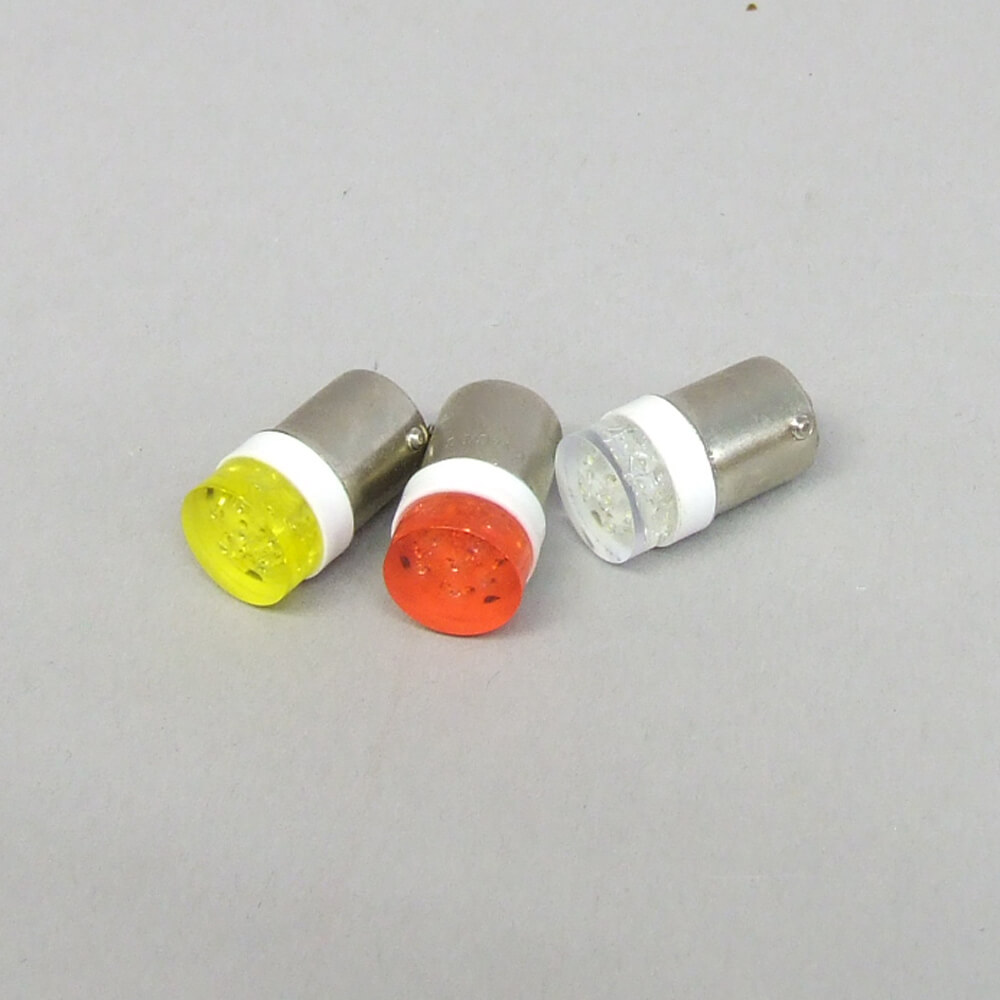 LED Bulb (T16, Wide, Red, White, or Yellow)