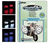 StreetFX Electropods (2PK, Chrome,  Blue LED)