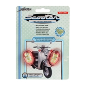 StreetFX Electropods (2PK, Chrome, Red LED)