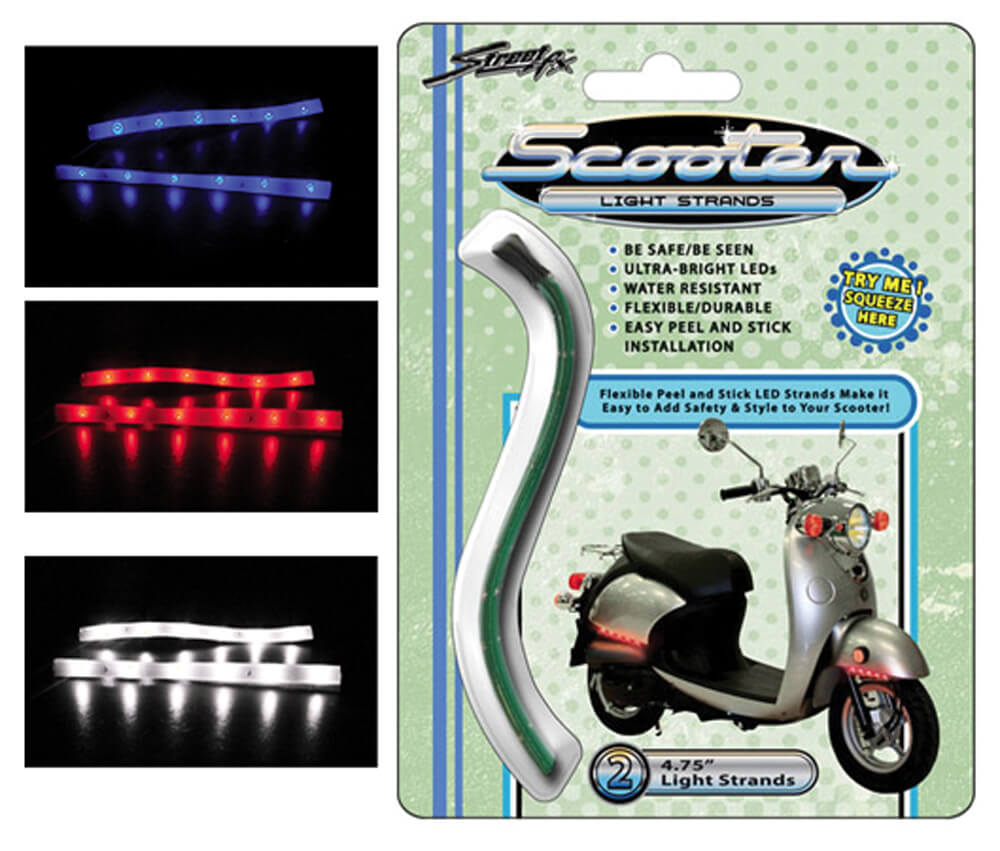 "StreetFX Light Strands (2PK, White LED, 4.75 "")"