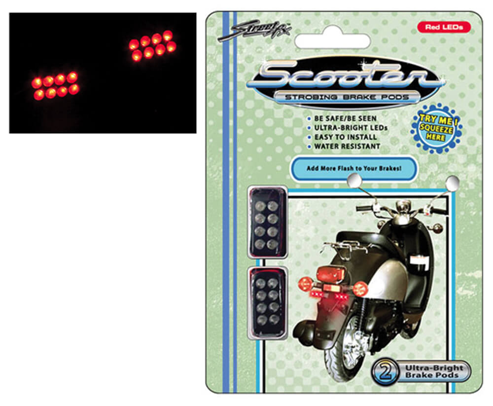 StreetFX Strobing Brake PODS (Red LED)