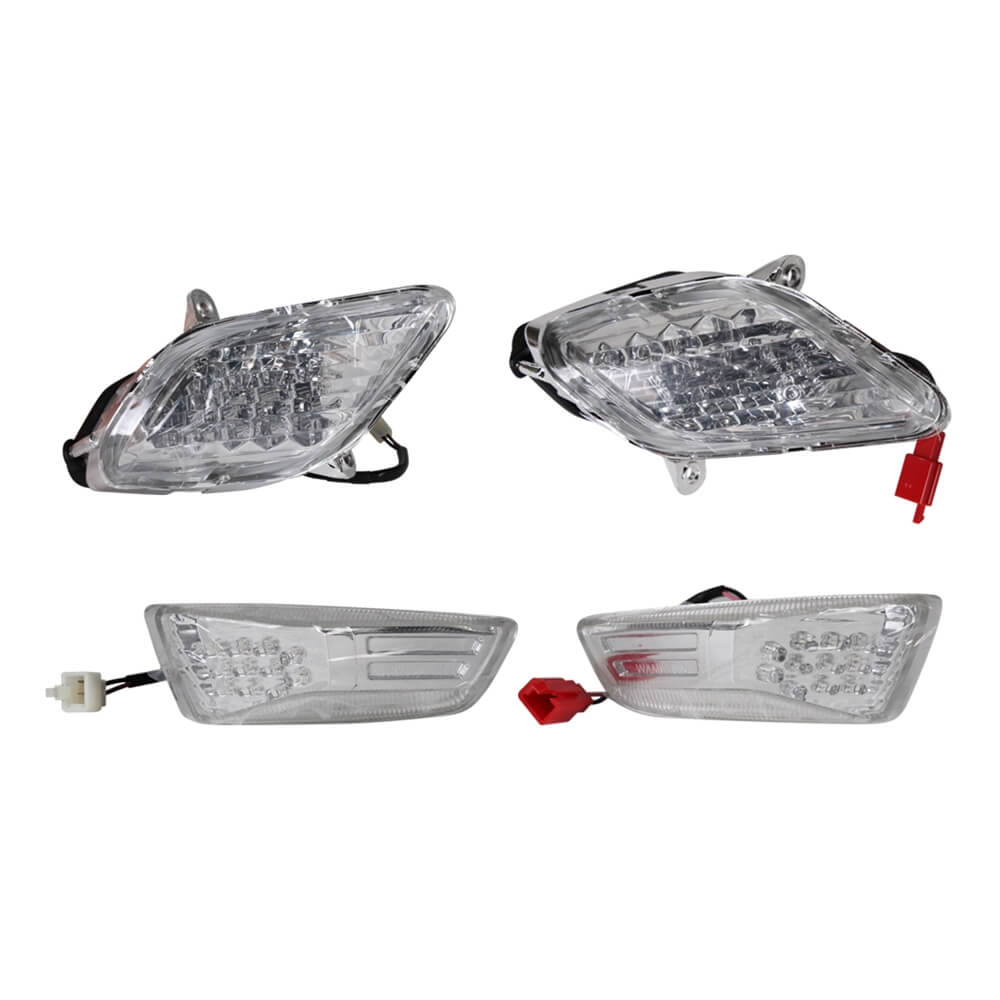 Low Profile Turn Signal Set (Flush Mount); Genuine Hooligan