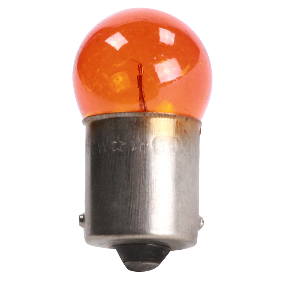 Blue Line Turn Signal Bulb (12V, 10W, Orange); GY6, QMB