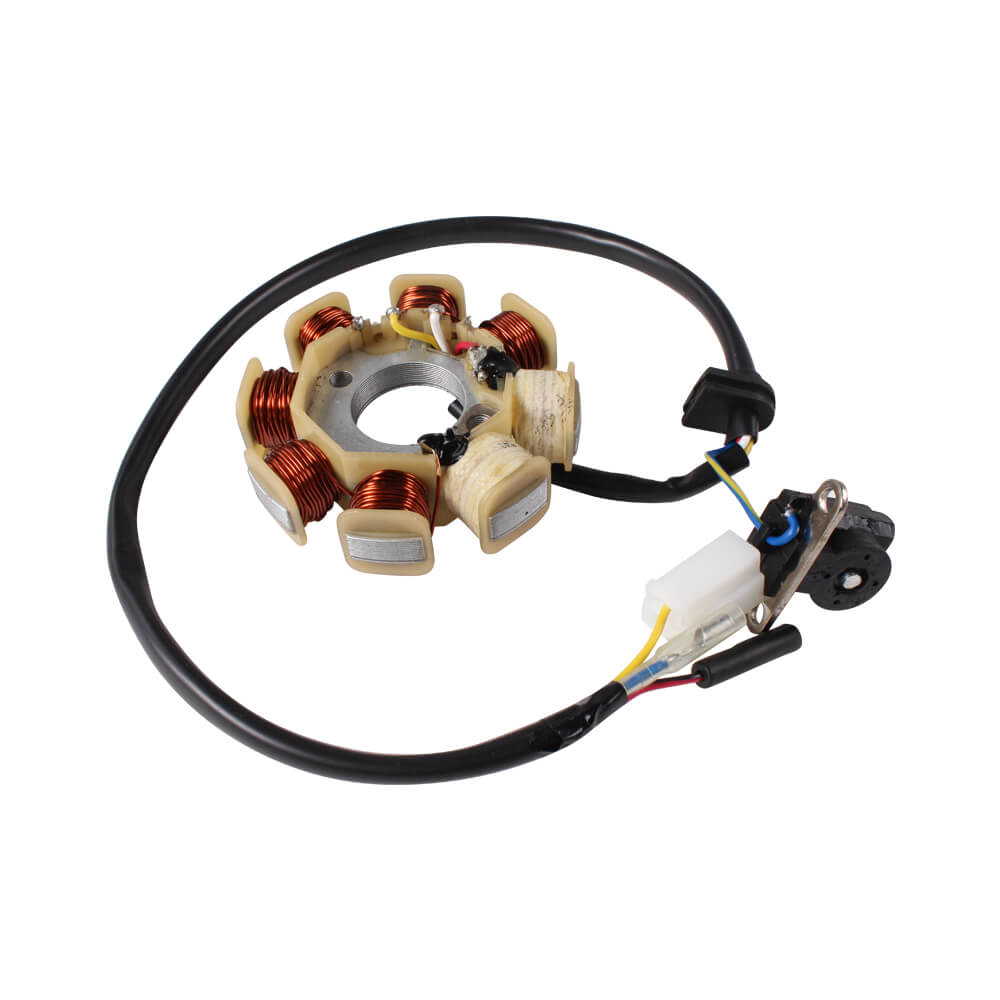 8 Coil Stator, CSC Go., QMB139 Scooterworks USA