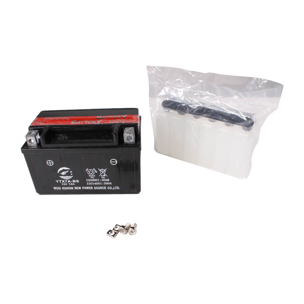 Battery (12V,7Ah); CSC go., QMB139 Scooters