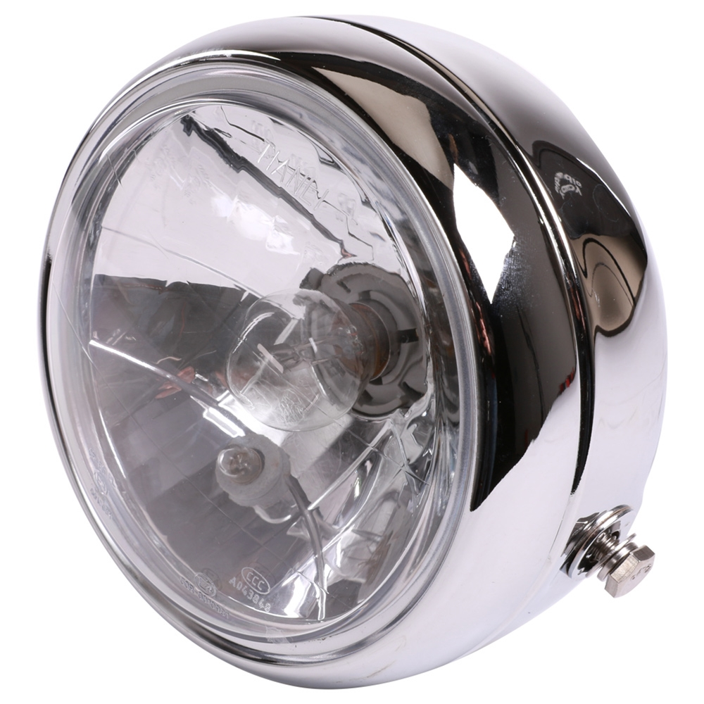 Prima Headlight (Chrome, H4);Genuine G400C