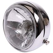 Prima Headlight (Chrome, H4);Genuine G400CS