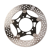 NCY Floated Brake Disc (Black, Stainless, 260mm); Zuma 125