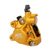 NCY Forged Brake Caliper (Gold); Zuma 50, Buddy 50 , RH50S