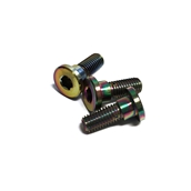 NCY Stainless Brake Disc Screws (Electroplated); Honda PCXS
