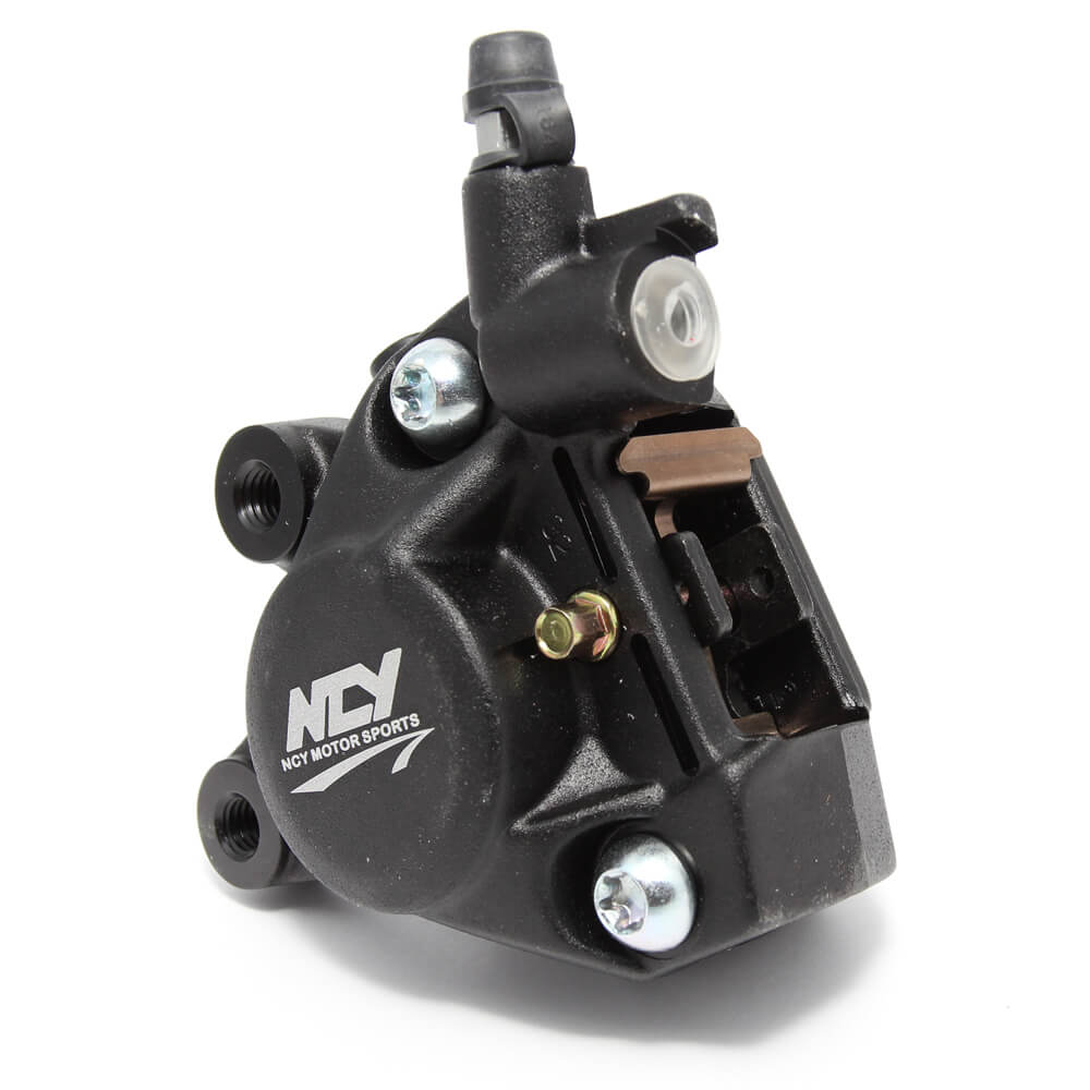 NCY Forged Brake Caliper (Black); Zuma 50, Buddy 50, RH50