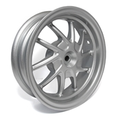 NCY Rear Wheel (Silver), Honda RuckusS