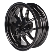 NCY Rear Wheel (Black, 10 Spoke); Honda RuckusS