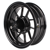 NCY Front End Kit Rim Replacement (Black, 10 Spoke); RuckusS