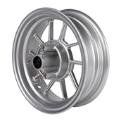 NCY Front End Kit Rim Replacement (Silver, 10 Spoke)S