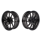 NCY Ruckus Wheel Set (Black Ice, Hustler, 10