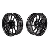 NCY Ruckus Wheel Set (Black Ice, Hustler, 10