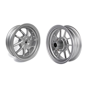 NCY Ruckus Wheel Set (Silver Bullet, Hustler, 10