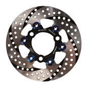 NCY Disc Brake (Silver, Floated, 200mm); Honda Ruckus, DioS