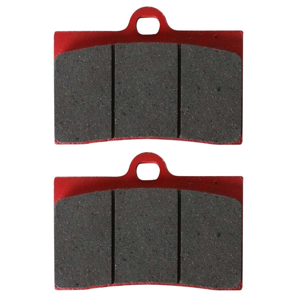 NCY Brake Pads (4 Piston Caliper); Front End Kit