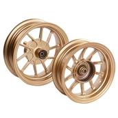 NCY Ruckus Wheel Set (Stay Gold, Hustler, 10