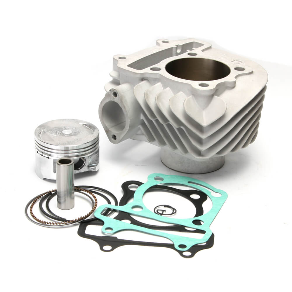 NCY Ceramic Cylinder Kit (58.5 mm); Genuine Buddy 150, GY6