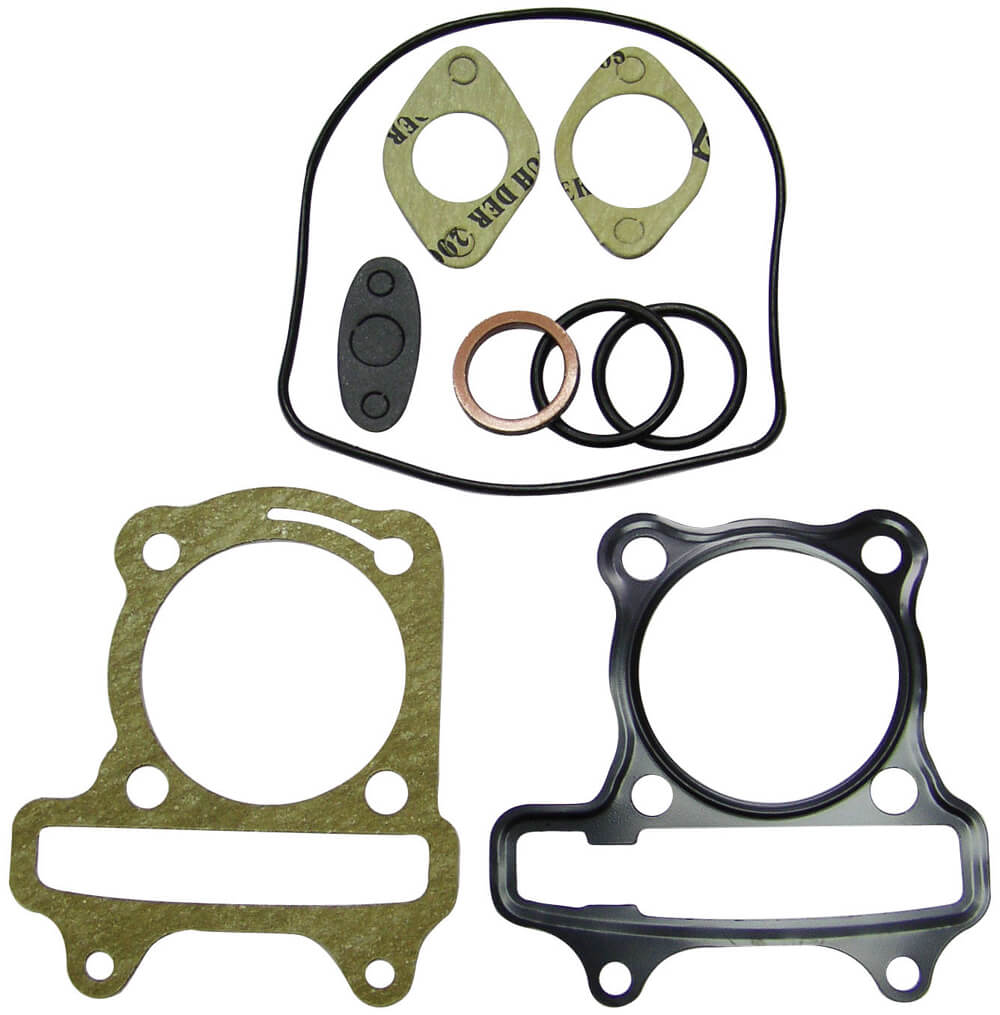 NCY Cylinder Gasket Set (59 mm); Genuine, GY6