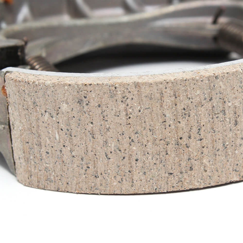 Tao Tao Brake Shoes Closeup