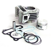 NCY Cylinder Kit (Cast; 52mm, 88cc); QMB139
