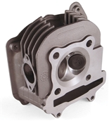 NCY Big Valve Cylinder Head (58.5mm, 2 Valve); Genuine/GY6S