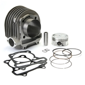 NCY Cylinder Kit (Aluminum, 61mm, 171cc); Genuine/GY6S