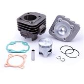 NCY Cylinder Kit (72cc, Iron,12mm Pin) Horiz. Minarelli 2TS
