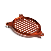 NCY Fan Cover (Aluminum, Orange); Honda PCXS