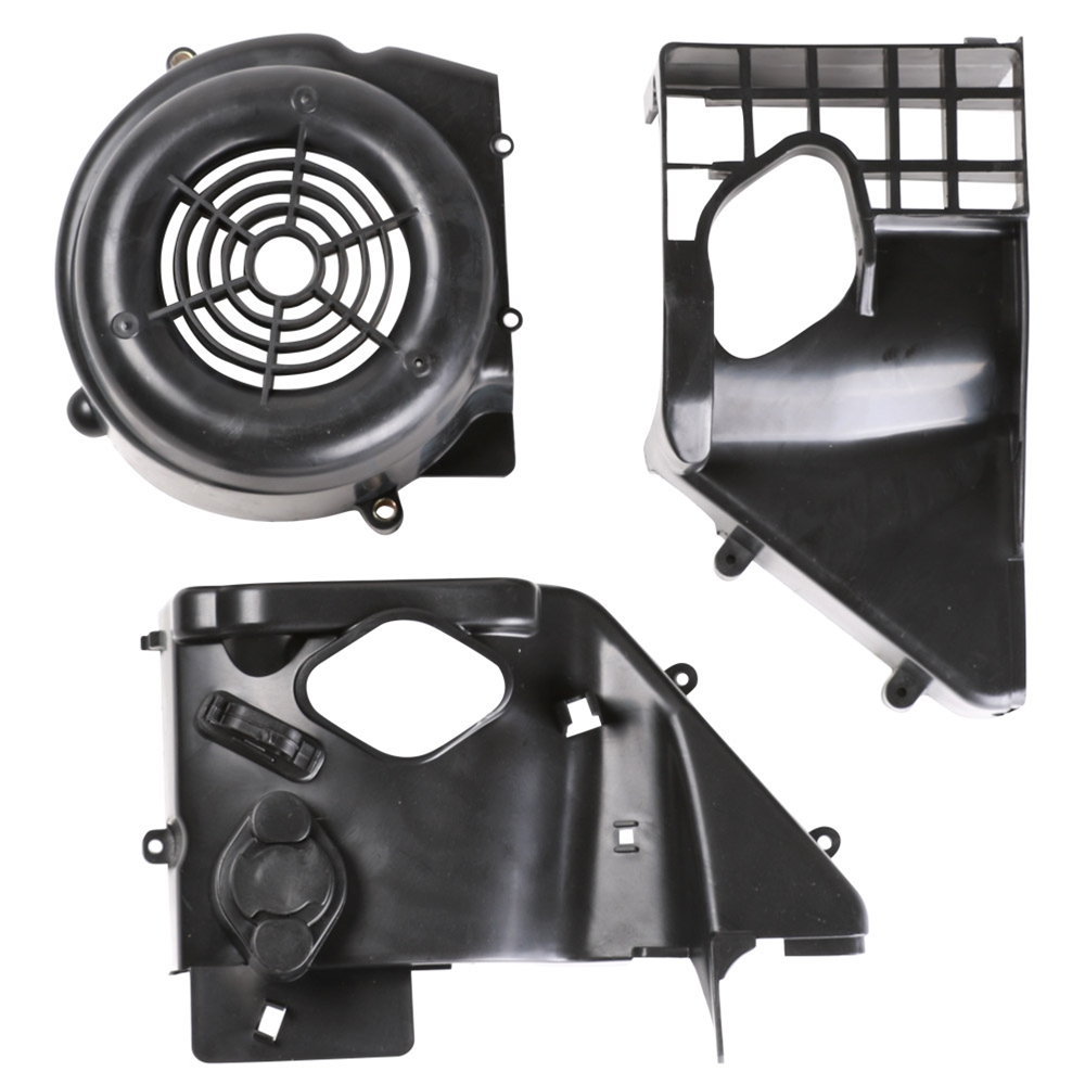 Blue Line Complete Fan Shroud Assembly; GY6