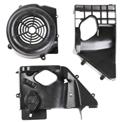 Blue Line Complete Fan Shroud Assembly; GY6S
