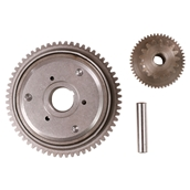 Blue Line Starter Clutch and Gear Kit; GY6S