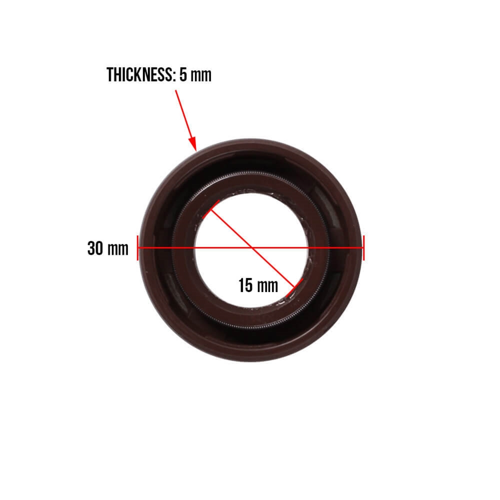 Bintelli Breeze Right Crankcase Oil Seal Dimensions