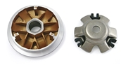 NCY Coated Variator (115mm/Gold color); Genuine 125/150/GY6S