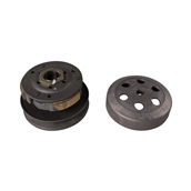 Complete Clutch and Bell Assembly; CSC go., QMB139 ScootersS